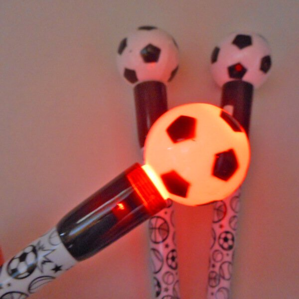 大きいプラサッカーボール付き レアボールペン