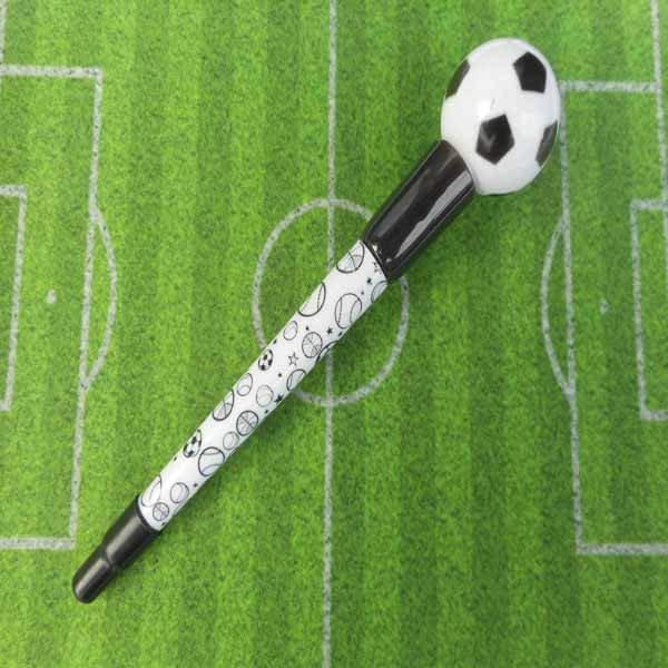 大きいプラサッカーボール付き レアボールペン【画像2】