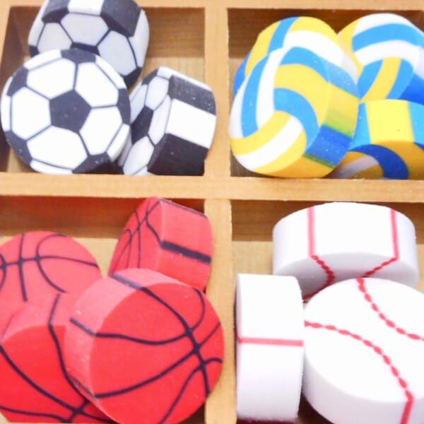 コイン型消しゴム(野球のボール)単価34円〜【画像6】