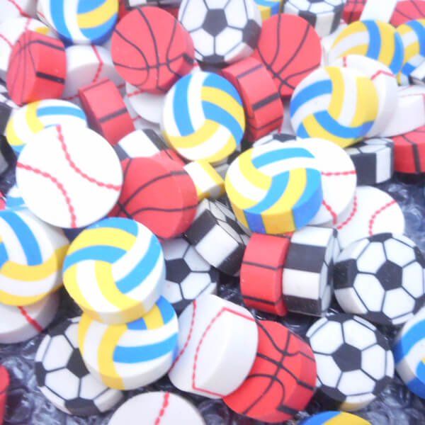 コイン型消しゴム(野球のボール)単価34円〜【画像7】