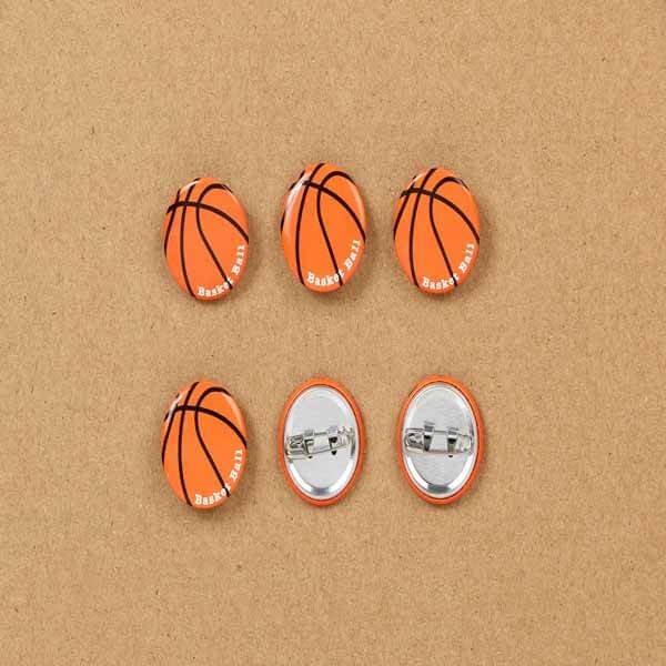 セットがお得! オリジナルバスケットボール缶バッチ(ミニサイズ) 単価90円〜【画像4】