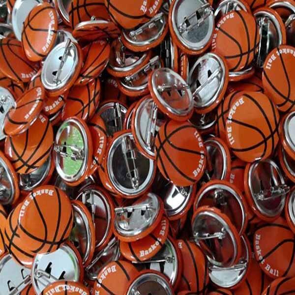 セットがお得! オリジナルバスケットボール缶バッチ(ミニサイズ) 単価90円〜【画像6】