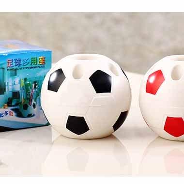 期間・数量限定セール 新サッカーボール型ペン立て ペンスタンド【画像3】