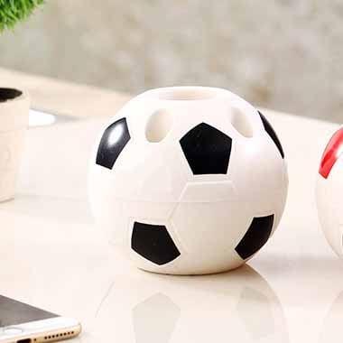 期間・数量限定セール 新サッカーボール型ペン立て ペンスタンド【画像5】
