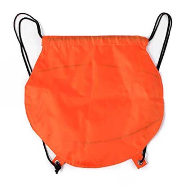 バスケットボール型のオリジナル巾着袋【画像2】