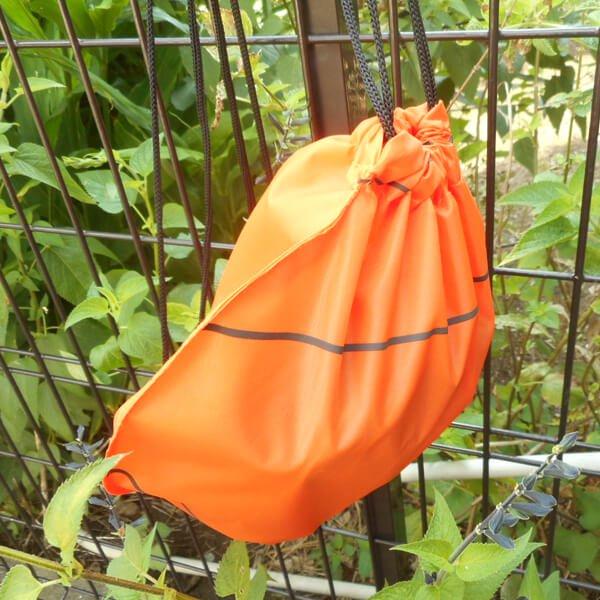 バスケットボール型のオリジナル巾着袋【画像7】