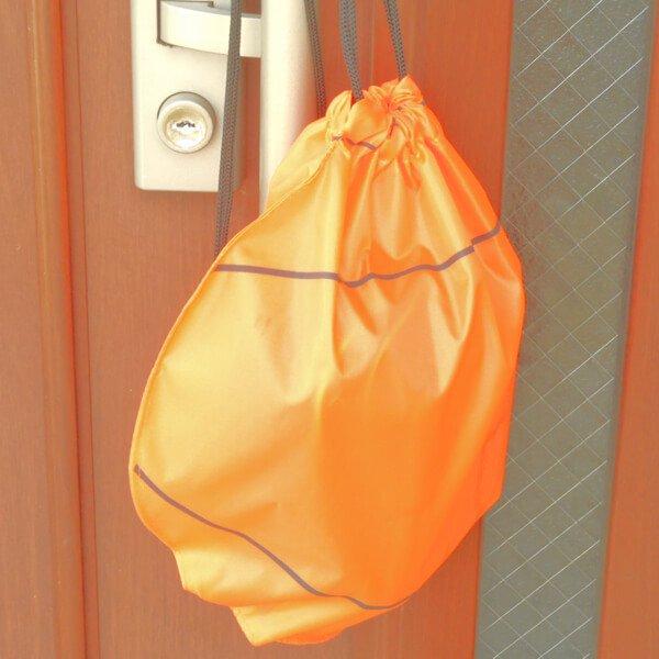 バスケットボール型のオリジナル巾着袋【画像8】