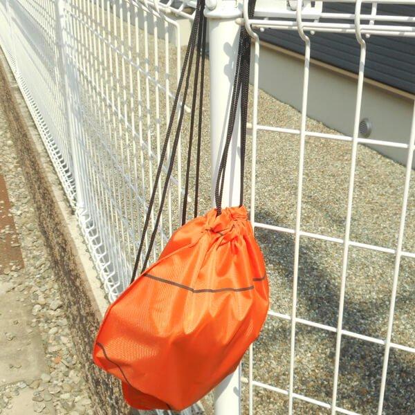 バスケットボール型のオリジナル巾着袋【画像9】
