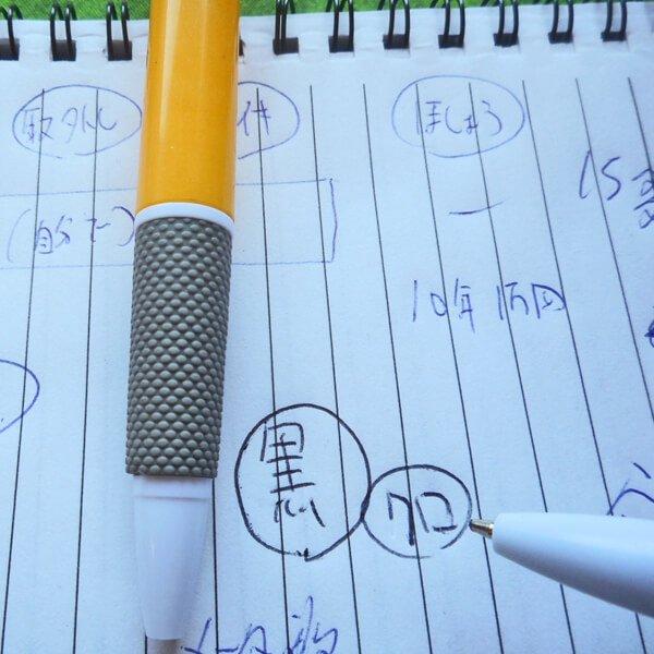 サッカーボール柄入りのシンプルボールペン Gracias【画像3】