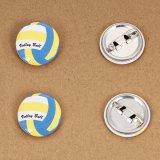 バレー セットがお得 オリジナルバレーボール缶バッチ(ミニサイズ)