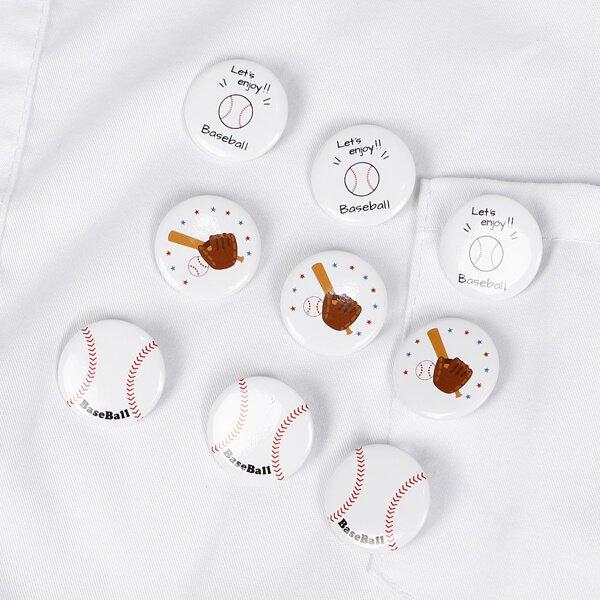 オリジナル野球ボール缶バッチ(ミニサイズ)