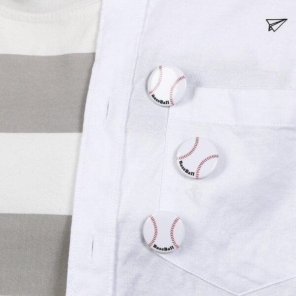 オリジナル野球ボール缶バッチ(ミニサイズ)【画像4】