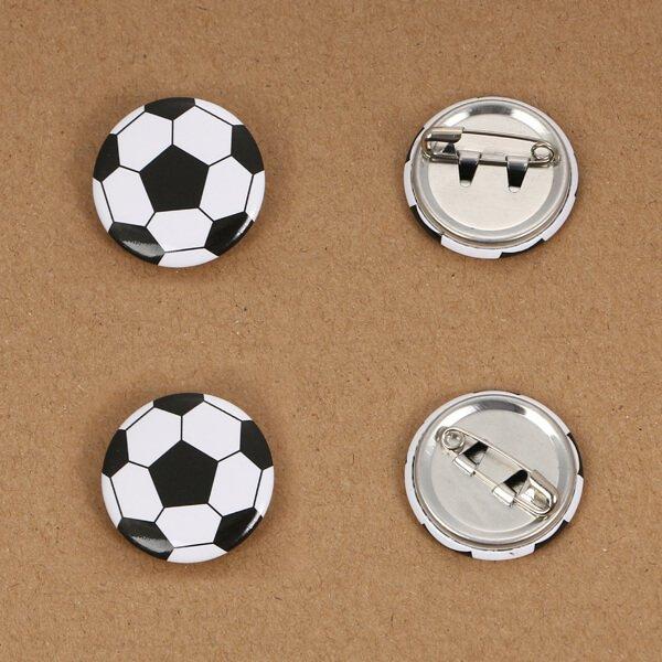 オリジナルサッカーボール缶バッチ(ミニサイズ)【画像4】