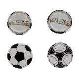 オリジナルサッカーボール缶バッチ(ミニサイズ)