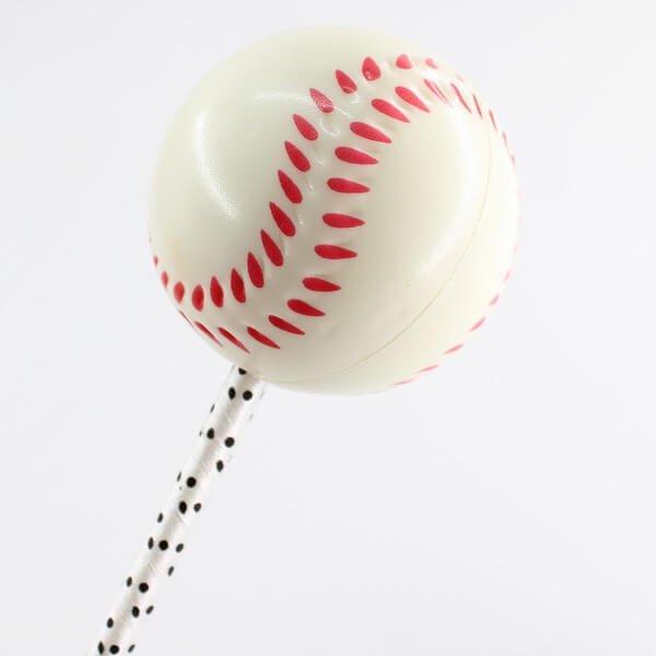 大きいPUボール付きボールペン 野球ボール【画像3】