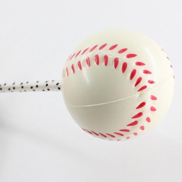 大きいPUボール付きボールペン 野球ボール【画像4】