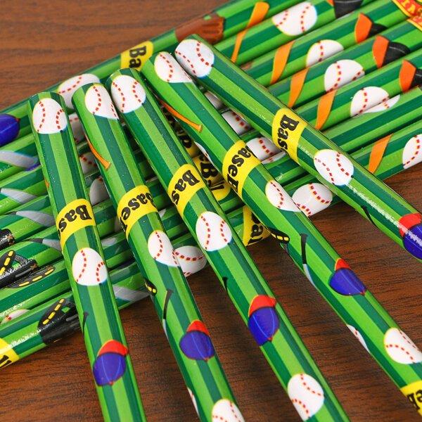 セットがお得  グラシアスオリジナル鉛筆  野球柄【画像2】