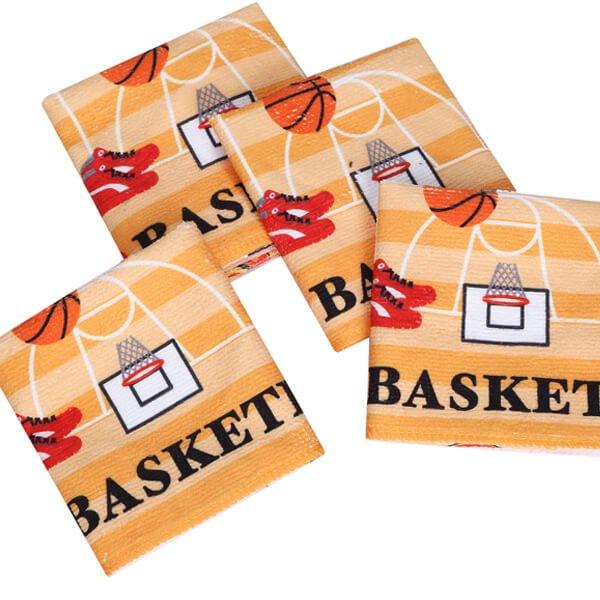 グラシアスオリジナルミニタオル  バスケットボール( I LOVE BASKETBALL )【画像3】
