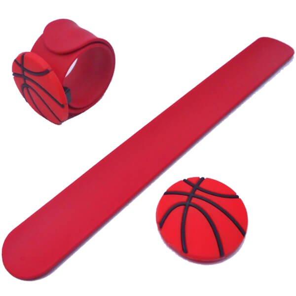 子供用のバスケットボールくるくるシリコンブレスレット【画像4】