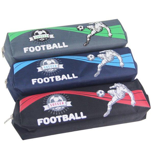 サッカー選手柄のシンプルでカッコいいペンケース