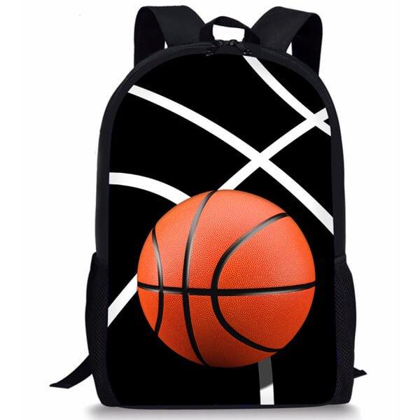 (子供用)バスケットボール柄のリュックサック