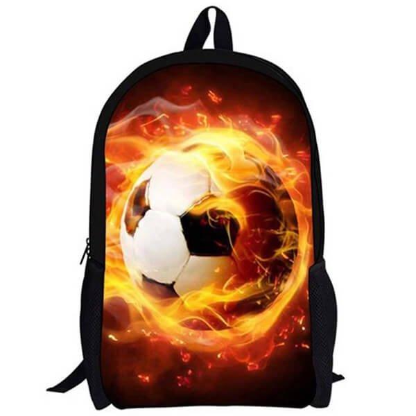 (子供用)サッカーボール柄のリュックサック【画像3】