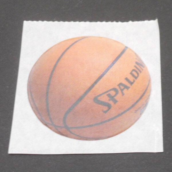 バスケットボール柄のユーティリティボックス(ユニークバスケット)