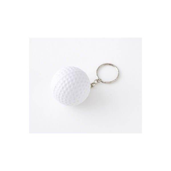 アウトレット  やわらかいゴルフボールキーホルダー