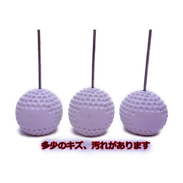 大きいゴルフボールのメモクリップボード 1個 (初期キズ等あり)【画像2】