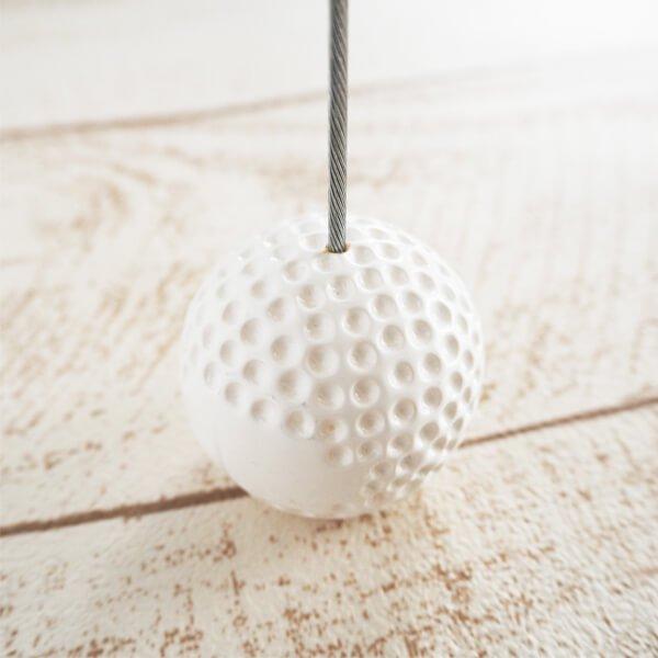 大きいゴルフボールのメモクリップボード 1個 (初期キズ等あり)【画像3】