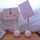 ゴルフボールグッズ・雑貨 大きいゴルフボールのメモクリップボード 1個 (初期キズ等あり)