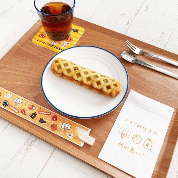 セット購入がお得 バスケットボール柄のオリジナル厚紙コースター 5枚セット〜【画像6】