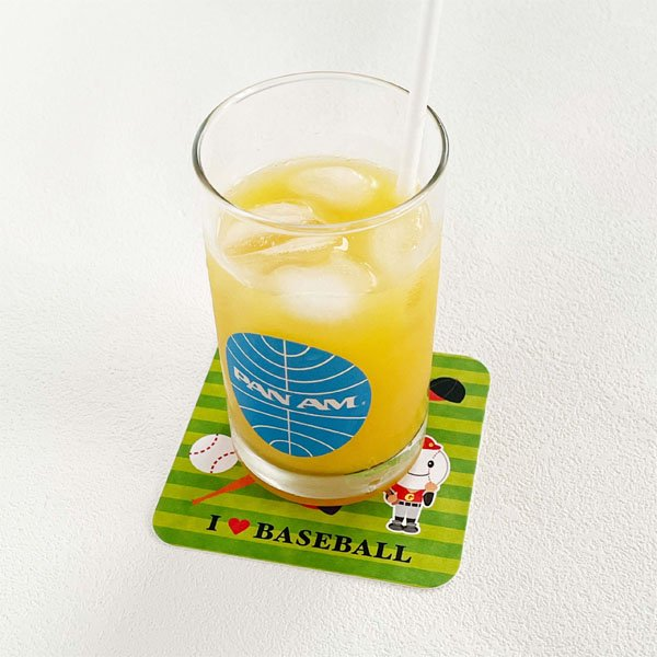 セット購入がお得 野球ボール柄のオリジナル厚紙コースター 1枚単価24円〜【画像3】
