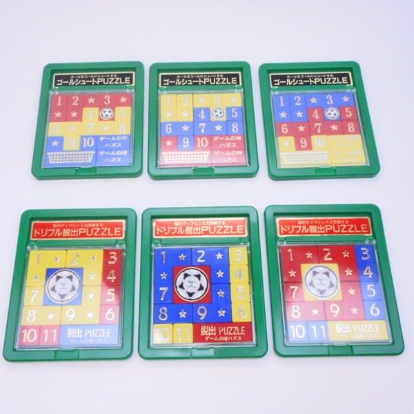 サッカーゲームの知育PUZZLE 1個