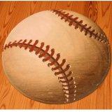 存在感抜群 野球ボール型ルームマット