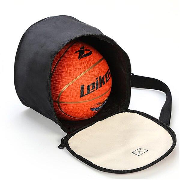 クールなバスケットボール柄ボールバッグ(内部初期汚れのため割引)【画像2】
