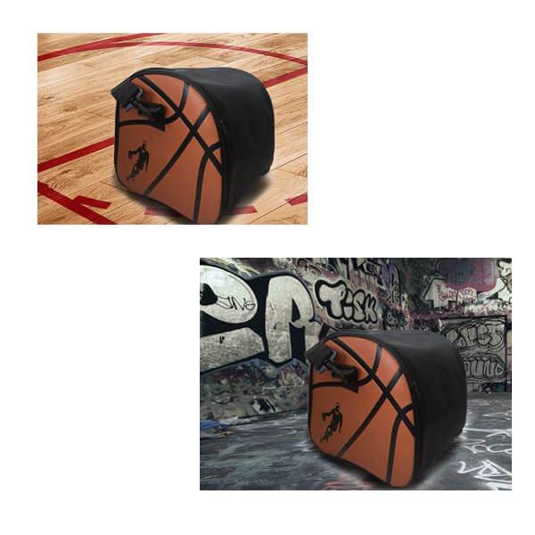 クールなバスケットボール柄ボールバッグ(内部初期汚れのため割引)【画像5】