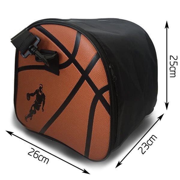 クールなバスケットボール柄ボールバッグ(内部初期汚れのため割引)【画像6】