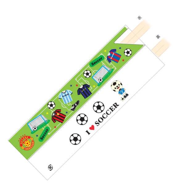 オリジナルサッカー柄 割り箸袋5枚セット (割り箸別売)【画像3】
