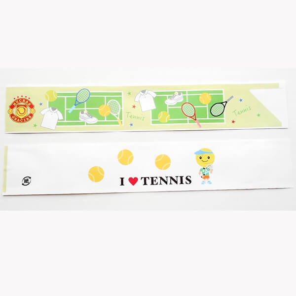 オリジナルテニス柄 割り箸袋5枚セット (割り箸別売)【画像5】