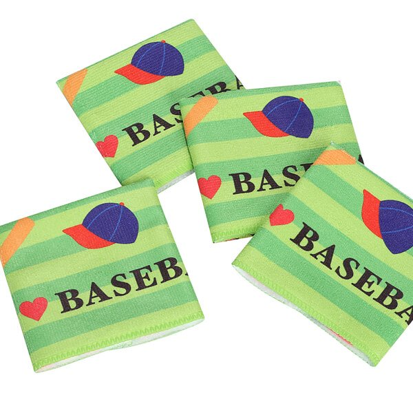 グラシアスオリジナルミニタオル  野球柄( I LOVE BASEBALL )【画像3】