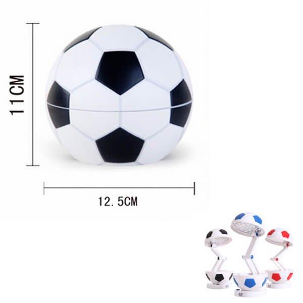 存在感抜群のサッカーボールランプ(コンセント使用タイプ)【画像2】