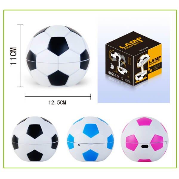 存在感抜群のサッカーボールランプ(コンセント使用タイプ)【画像4】