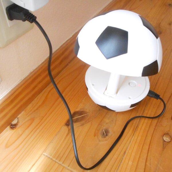 存在感抜群のサッカーボールランプ(コンセント使用タイプ)【画像5】