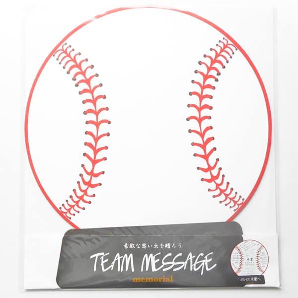 野球ボールのメモリアル色紙【画像3】