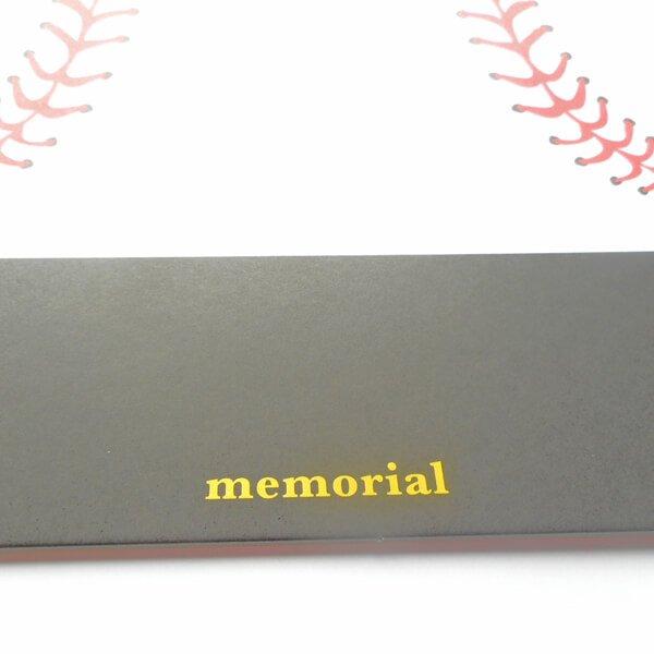 野球ボールのメモリアル色紙【画像5】