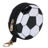 サッカー 景品向け  フック付マルチミニ缶ケース(小物入れ) オリジナルサッカーボール型