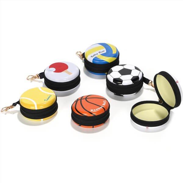 フック付マルチミニ缶ケース(小物入れ) オリジナルテニスボール型【画像6】