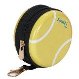 テニスボールグッズ・雑貨 フック付マルチミニ缶ケース(小物入れ) オリジナルテニスボール型