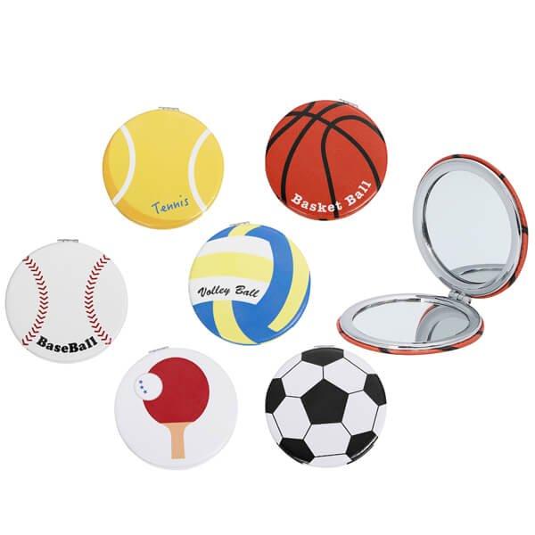 サークルコンパクトミラー オリジナルテニスボール型【画像7】